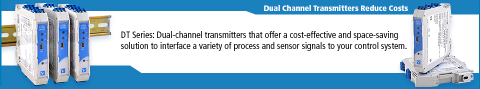 Dual Channel Transmitters Reduce Costs