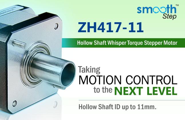 ZH417-11 Hollow Shaft Stepper Motor